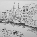Oude Harbor, Copenhagen