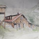 Ranch in rural Argentina