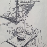 Kitchen, Quequechina