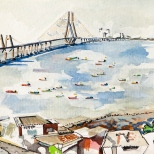 The Sealink from Worli